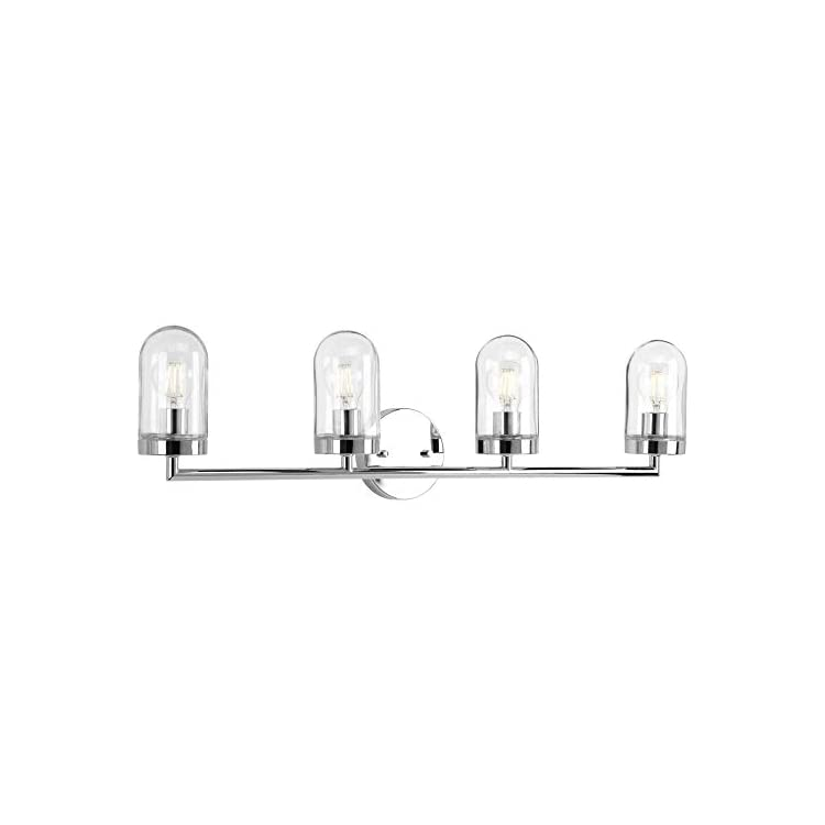 P300177-015-Signal-Four-Light-Bath-&-Vanity-with-Clear-Glass,-9-1/8'-x-33-1/2',-Polished-Chrome