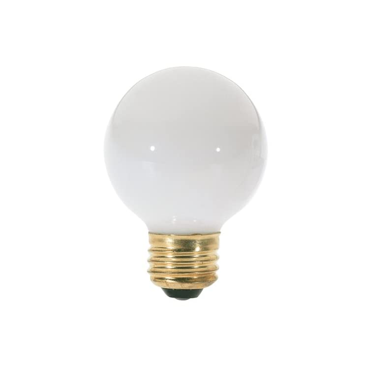 S3827-120V-Medium-Base-25-Watt-G18.5-Light-Bulb,-Gloss-White
