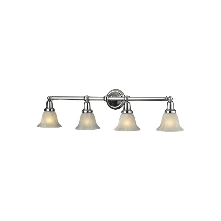 Elk-Lighting-Vintage-Bath-4-Light-Bath-Bar,-Chrome