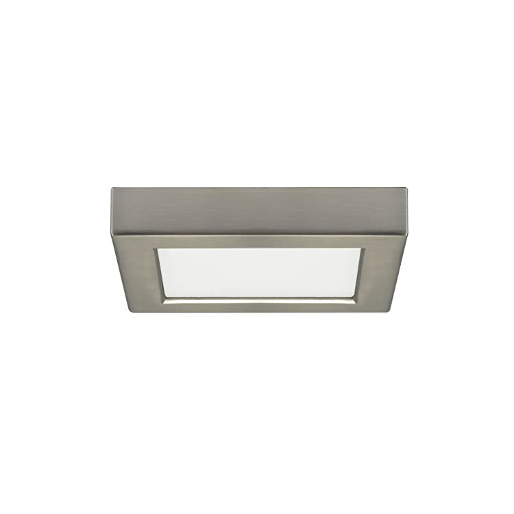 S9325-Contemporary-Modern-LED-Flush-Mount-in-White,-5.50-inches,-560Lm