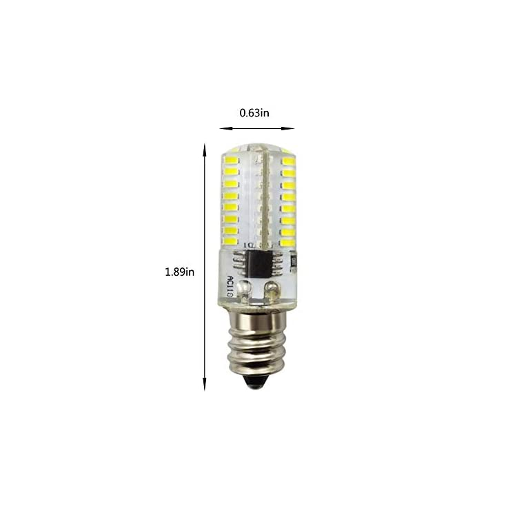 3W-E11-Mini-LED-Corn-Light-Bulbs(8-Pack)--64-LEDs-3014-SMD-220lm-Daylight-White-6000K-LED-Corn-JDE11-Lamp-30W-Equivalent-for-Ceiling-Fan,-Sconce,-Cabinet,-Dimmable,-110V(No-fit-E12)