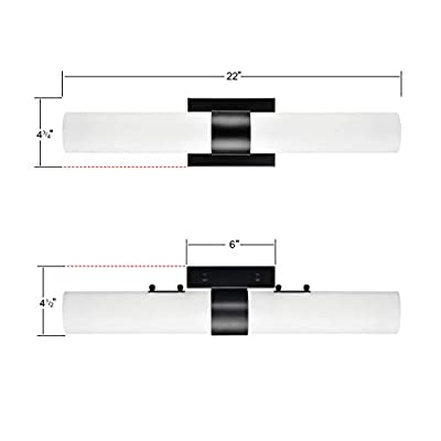 Perpetua-22-inch-Integrated-LED-Bathroom-Vanity-Light-|-Black-Bathroom-Lighting-LL-SC1042-5BLK