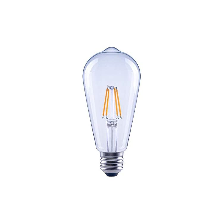 Asencia-AN-03674-40-Watt-Equivalent-ST19-Clear-All-Glass-Vintage-Filament-Dimmable-LED-Light-Bulb,-Soft-White,-3-Pack,-(Renewed)