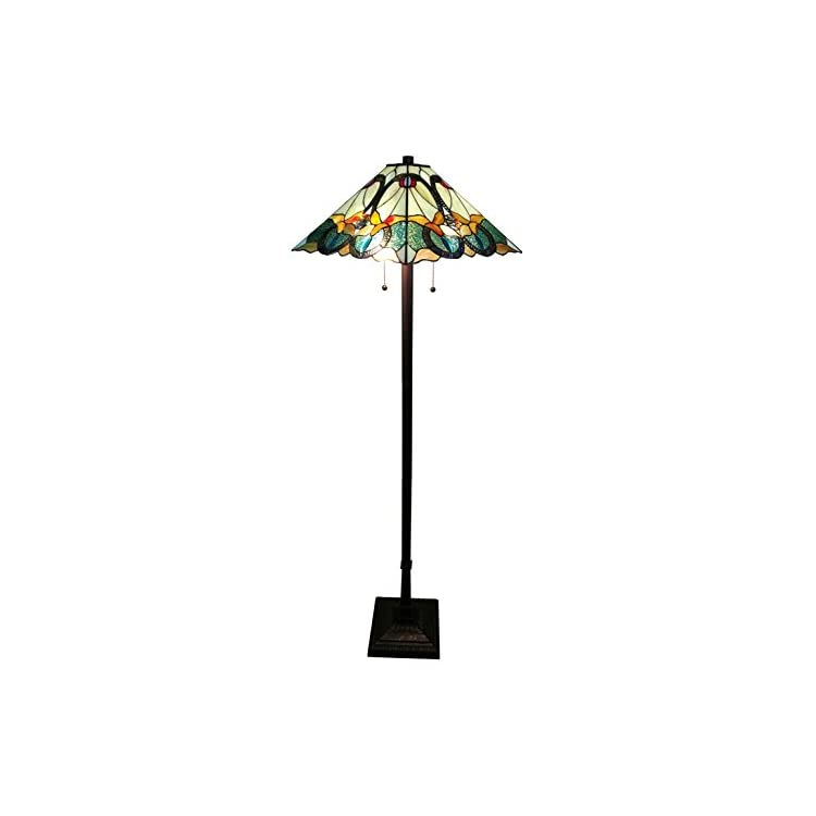 AM255FL17-Tiffany-Style-Mission-Standing-Floor-Lamp-63'-Tall-Stained-G