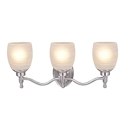 62129-Three-Metal-Bathroom-Vanity-Wall-Light-Fixture,-3,-Brushed-Nickel