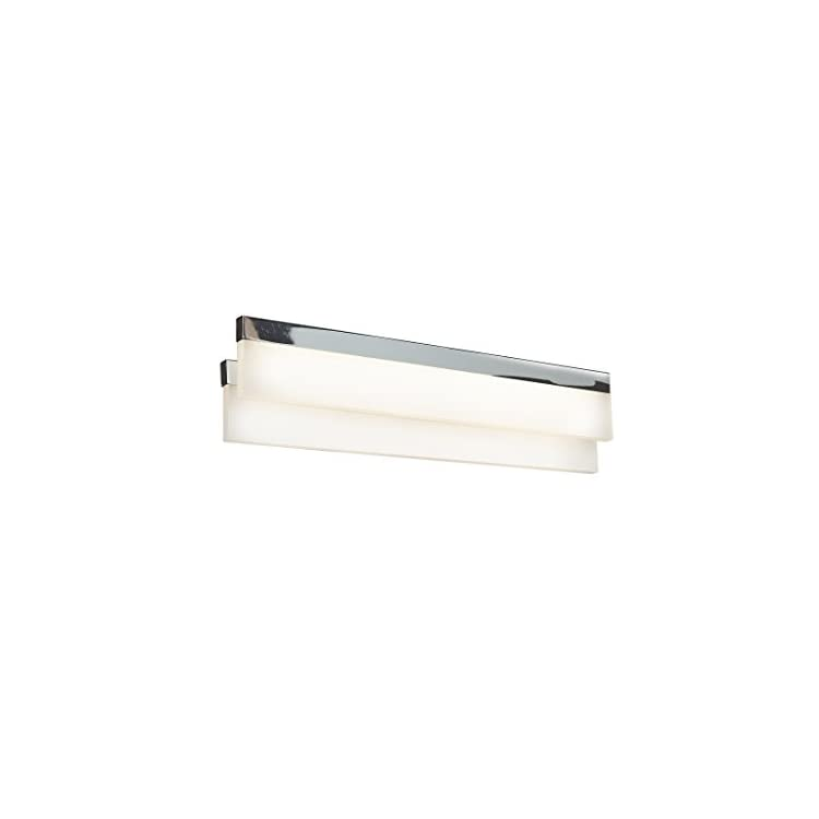 Access-Lighting-62243LED-CH/ACR-Linear-LED-18-Inch-Width-Vanity-with-Acrylic-Lens,-Chrome