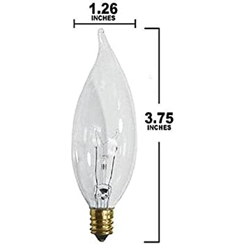 Pack-of-12-25-Watt-CFC-Clear-Flame-Shaped-Incandescent-Light-Bulb,-Candelabra-Base