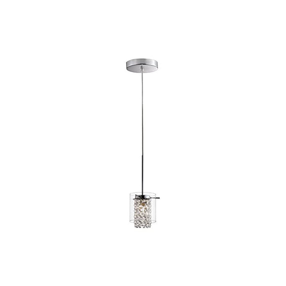 Bazz-PR3811CB-Glam-Pendant-Light,-Dimmable,-Adjustable,-Easy-Installation,-59-in,-Clear-Glass