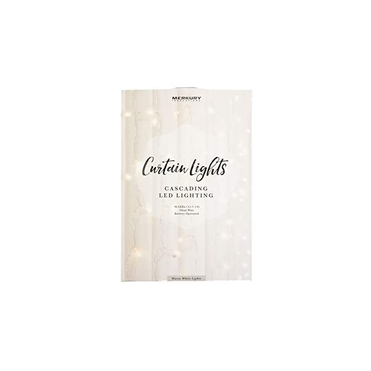 Cascading-LED-Window-Curtain-String-Lights-Wedding-Party-Home-Garden-Bedroom-Outdoor-Indoor-Wall-Decorations,-Warm-White