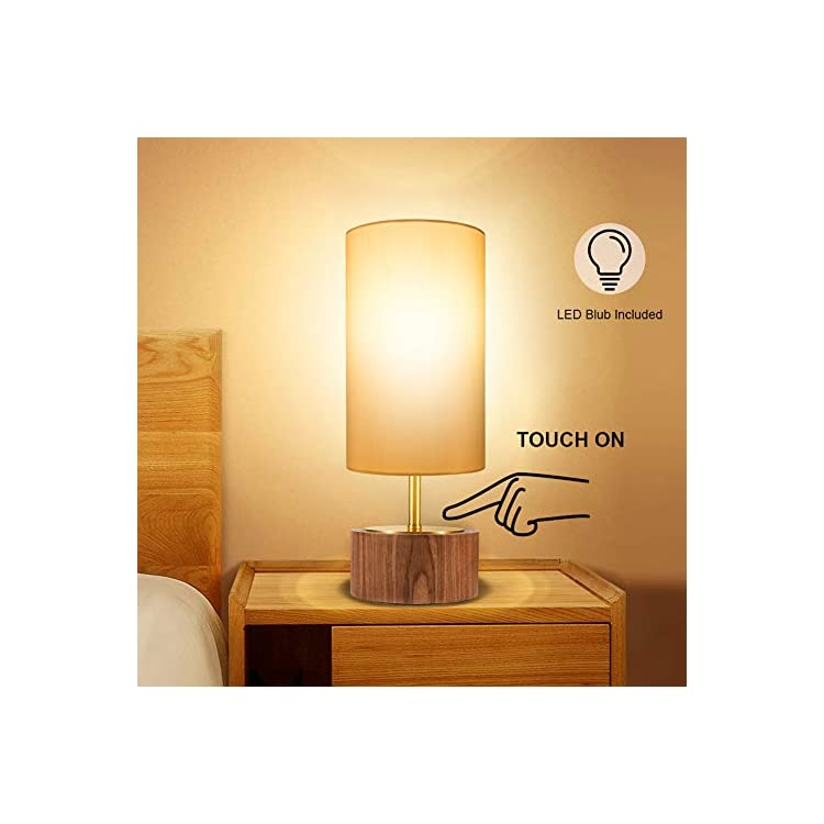 Touch-Control-Table-Lamp,-Bedside-Nightstand-Lamp-Modern-Accent-Desk-L