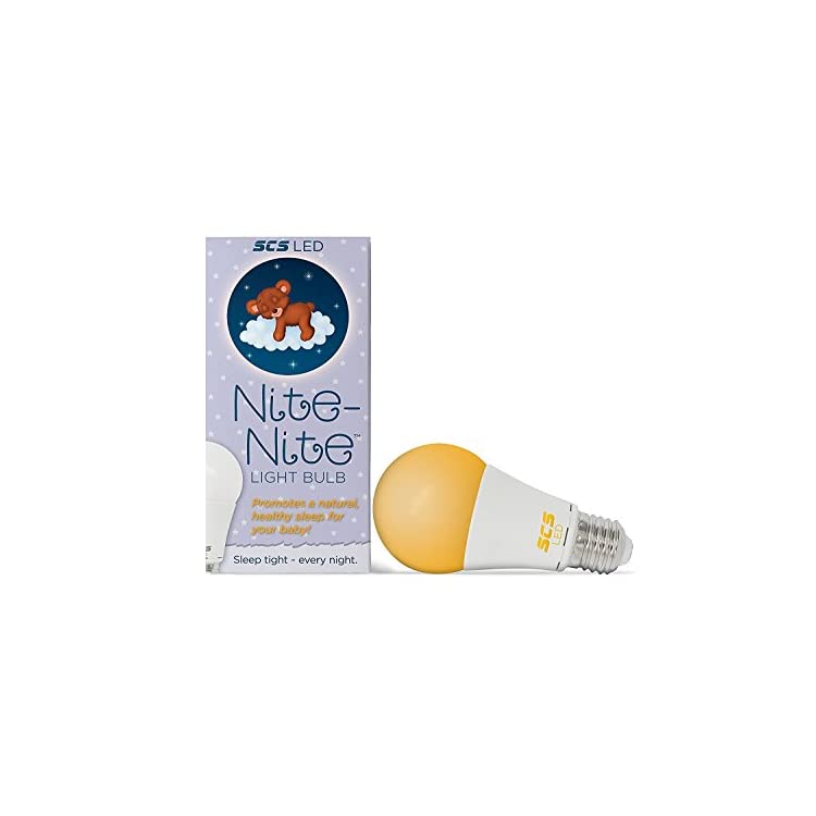 Nite-Nite-Light-Bulb.-Natural-Baby-Sleep-Aid.-Promotes-Healthy-Sleeping-Habits-for-Baby-and-Mother-|-Certified-by-The-National-Parenting-Center.-(e26-(Standard))