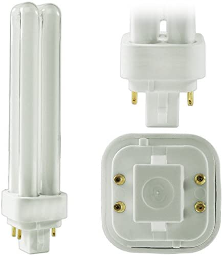 (4-Pack)-PLC-18W-827,-4-Pin-G24q-2,-18-Watt-Double-Tube,-Compact-Fluorescent-Light-Bulb,-Replaces-Sylvania-20683-and-Philips-38329-9---PL-C-18W/827/4P/ALTO