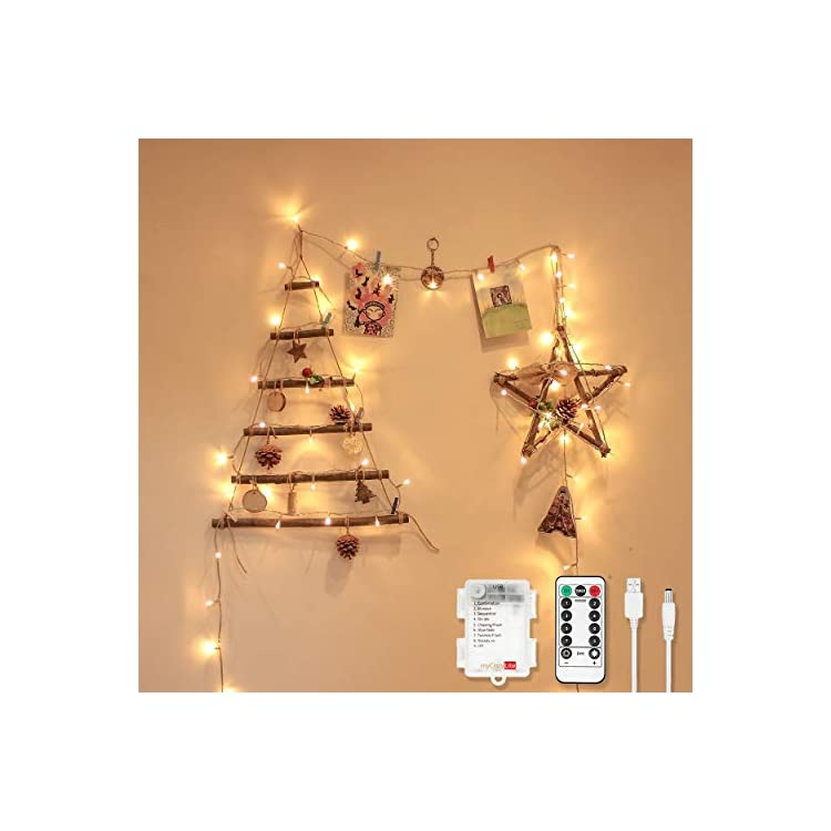 LED-String-Lights,-USB-and-Battery-Powered,-16.4ft-with-50-Warm-White-Decorative-Lights,-Dimmable,-Remote-Control-with-Timer,-Waterproof-for-Indoor-and-Outdoor-Decoration