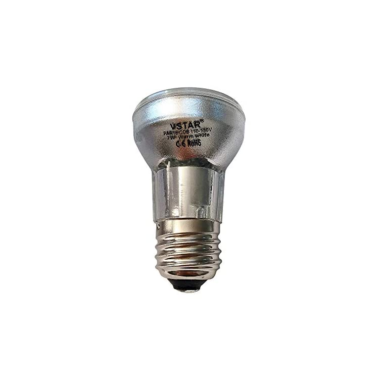 Par16-Led-Bulb,7W(60W-Equivalent)-Flood-Light-Bulb,E26/E27-COB-110-130V-Dimmable-3000k-Warm-White-(7W-3Pack)