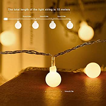 LED-Globe-String-Lights,-Globe-Christmas-Tree-Lights,-33ft-100-LED-War