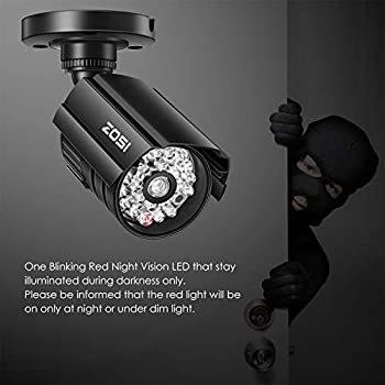 Bullet-Simulated-Surveillance-Cameras-with-Red-Light,Dummy-Security-Ca