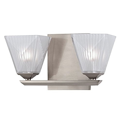 Hammond-2-Light-Vanity-Light---Satin-Nickel-Finish-with-Etched-Crystal/Frosted-Glass-Shade
