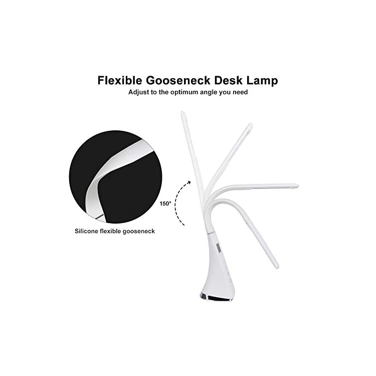 Office-LED-Desk-Lamp-Flexible,-Dimmable-Eye-Caring-Table-Lamp,-2600mAh