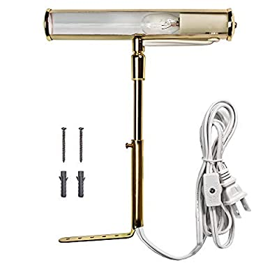 Picture-Light-7''-Inch-Brass-for-Painting-Display-Wall,-W/-T6-Bulb_PCT7