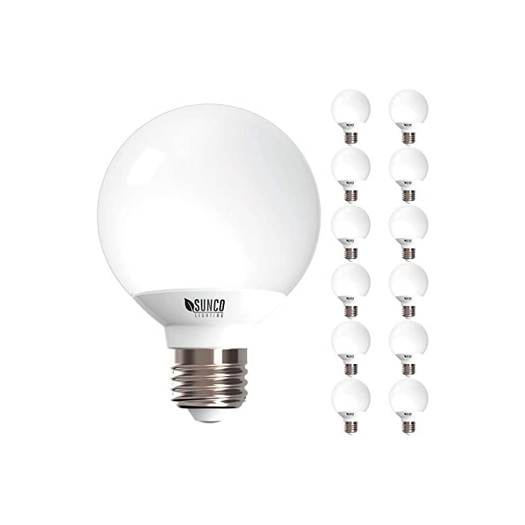 12-Pack-G25-LED-Globe,-6W=40W,-Dimmable,-6000K-Daylight-Deluxe,-E26-ba
