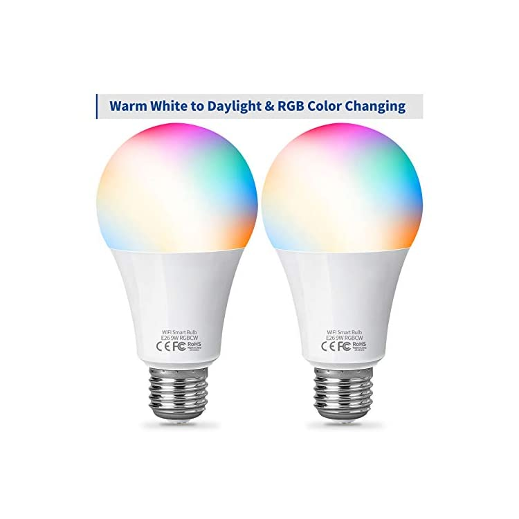 Smart-Light-Bulbs,-16-Million-Colors-Changing-App-Control-Bulbs,-9W-LED-Bulb-Equivalent-to-75W,-Voice-Control-Smart-Bulbs-Work-with-Siri,-Alexa-and-Google-Home,-2-Pack-A19-E26-900LM-Light-Bulbs