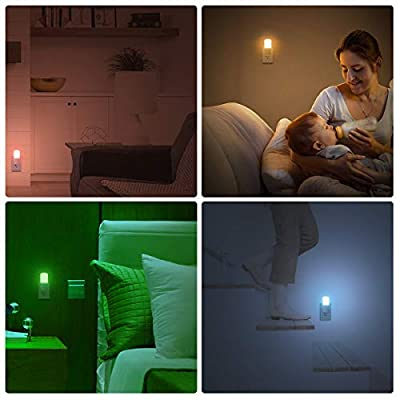 LOHAS-RGB-Night-Light-Plug-in,-LED-Color-Changing-Remote-Control-Nightlights,-Dimmable-Daylight-Soft-Wall-Night-Light,-Timing-off-Mini-Night-Lighting-for-Kids,-Bedroom,-Kitchen,-Nursery,-2-Pack