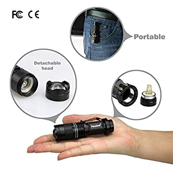 Flashlights,-Handheld-Flashlights,-7W-Mini-LED-Flashlights,-Tactical-F