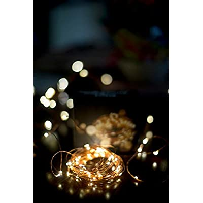 Extra-Long-Copper-Wire-Lights.-LED-String-Lights,-99FT-300LED.-Warm-White-Firefly-Fairy-Lights-for-Party,-Weddings,-Holiday-or-Christmas.-Water-Proof-Great-for-Patio.-A/C-Adapter-Included.