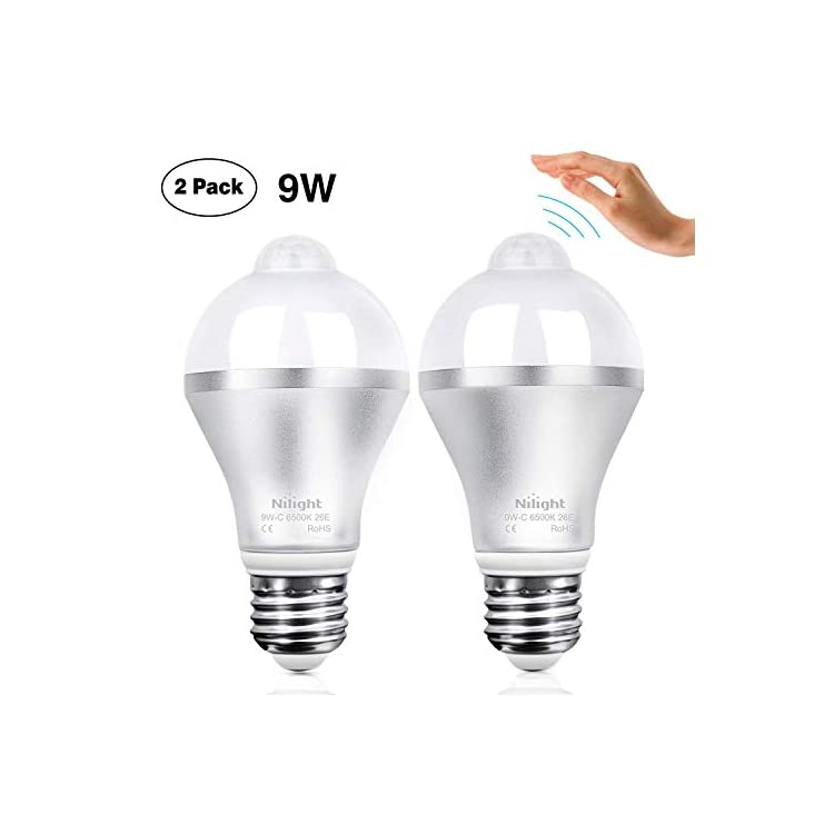 9W-E26/E27-Base-LED-A19-Smart,-Indoor/Outdoor-PIR-Detector-Lamp-(Cool-White,-2PCS)-Motion-Sensor-Light-Bulbs