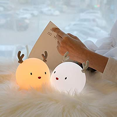 Night-Lights-for-Bedroom-with-Sleep-Breathing-Lamp-for-Kids-Boys-Girls-Women-Children-Baby-Nursery,-Touch-Control-USB-Rechargeable-Cute-Nightlights,-Perfect-Birthday-Gift-Choice