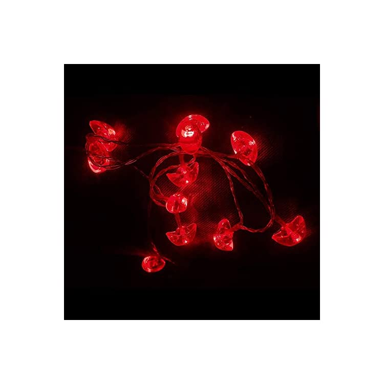 Red-String-Lights,-16.4ft-50-LED-Battery-Operated-Water-Prove-Yuanbao-String-Lights-Fairy-Lights-for-Wedding,-Chinese-New-Year,-Spring-Festival,-Party,-Christmas