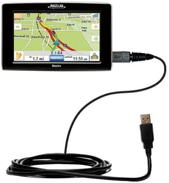 Hot Sync and Charge Straight USB Cable for The Magellan Maestro 5310 –