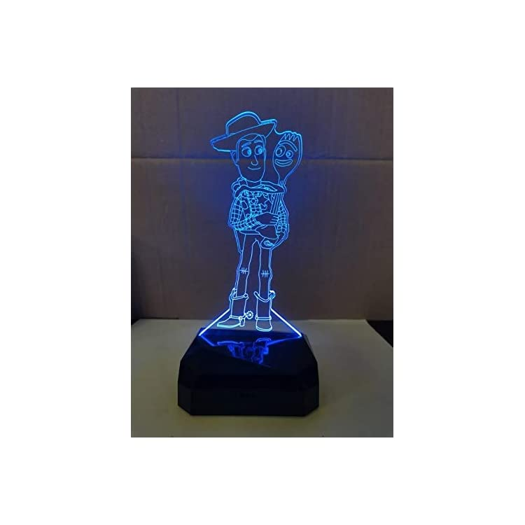 Woody-Figure-3D-Night-Lamp-3D-7-Color-Change-Touch-Switch-LED-Night-Li