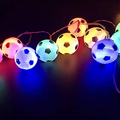5-M-/-16.4-Ft-50-Lights-Battery-Powered-Football-Soccer-Shape-LED-String-Lights-for-Indoor/Outdoor-Halloween-Christmas-Thanksgiving-Home-Party-Children-Kids-Bedroom-Decoration-(Multicolor)