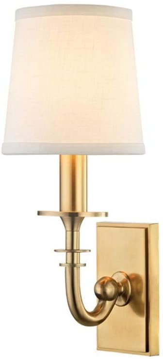 8400-AGB-Carroll---One-Light-Wall-Sconce,-Aged-Brass-Finish-with-White