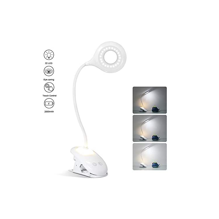 Rechargeable-Reading-Light-Book-Lights---22-LED-Cordless-Clip-on-Light