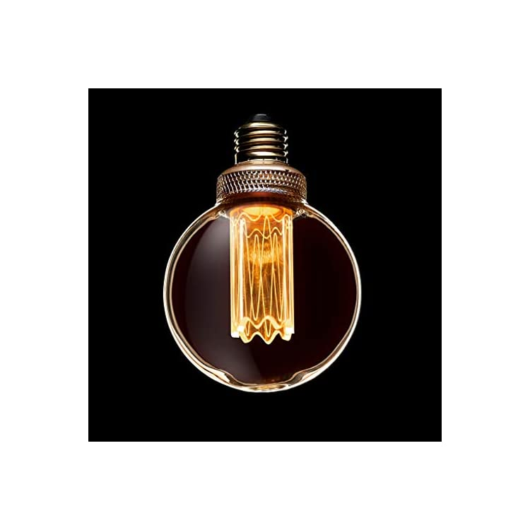 Decorative-LED-Light-Bulb-with-E26-Edison-G80-Small-Globe-Style-Glow,-Beautiful-Home-Decor-Lighting-for-Table-Lamps,-Overhead-Fixtures,-and-Wall-Sconces,-Exclusive-Design