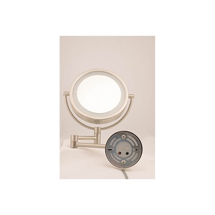 HL88CL-8.5-Inch-LED-Lighted-Wall-Mount-Makeup-Mirror-with-8x-Magnification,-Chrome-Finish