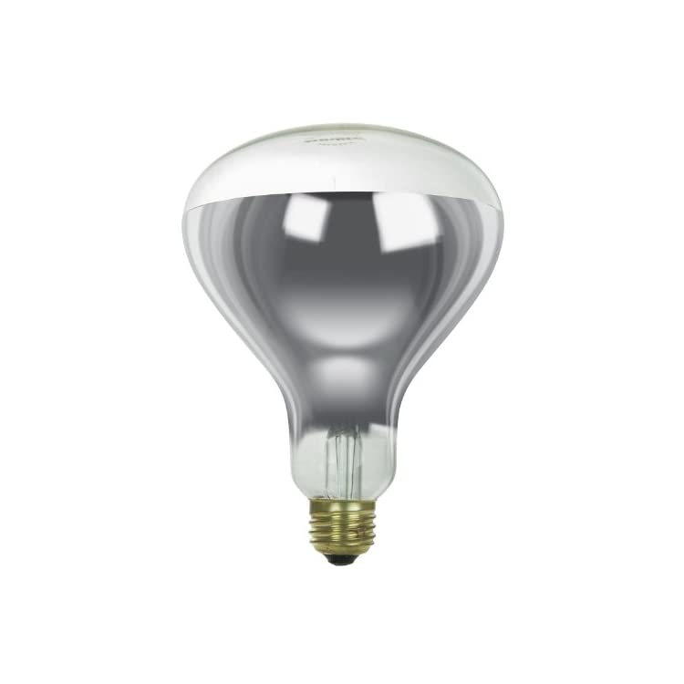 250R40/H/CL-Incandescent-250-Watt,-Medium-Based,-R40-Heat-Lamp-Bulb,-C