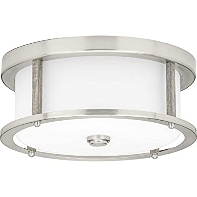 P350144-009-Mast-Two-Light-Bath-&-Vanity-with-Clear-&-Etched-White-Glass,-5-1/4'-x-13',-Brushed-Nickel