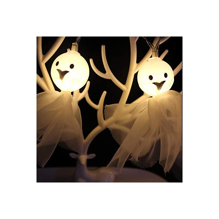Ghost-Halloween-String-Lights-10-LED-Lace-Ghost-for-Halloween-Party-Decor,-Halloween-Decoration,-Halloween-Lighting