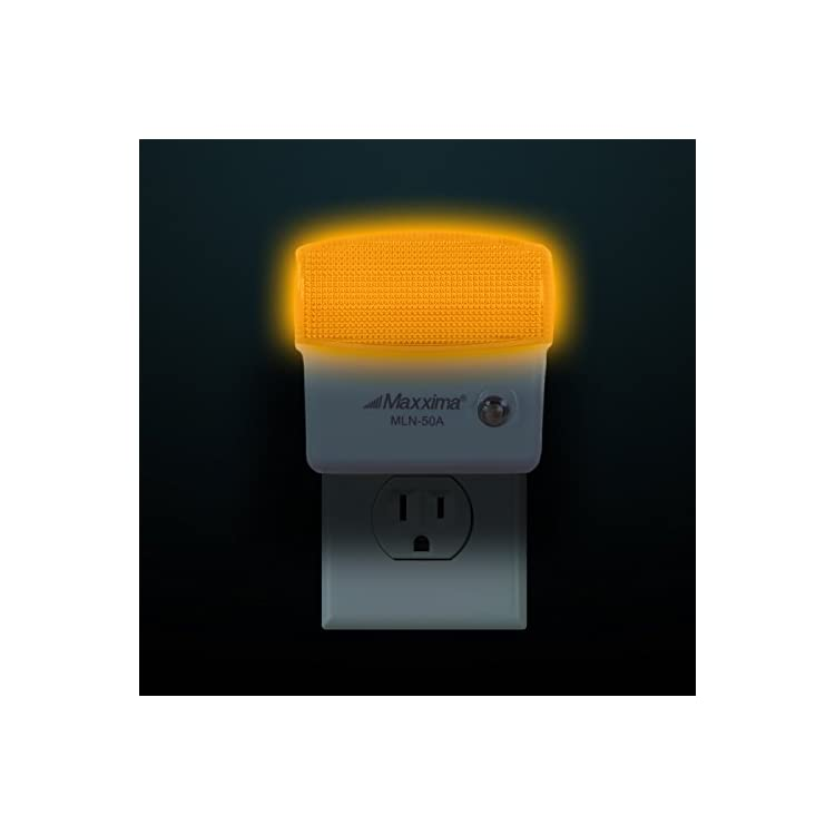 MLN-50A-Amber-LED-Night-Light-With-Dusk-to-Dawn-Sensor-(Pack-of-2)