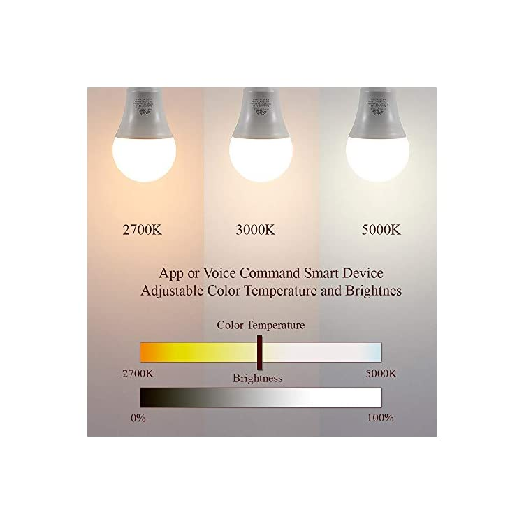 LED-Smart-Bulb---Alexa-Certified-Standard-Universal-A19-E26-Dimmable-Lightbulb-WiFi-Enabled-No-Hub-Required-Color-Tunable-2700K---5000K