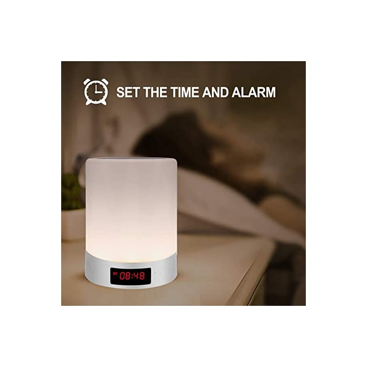 Touch-lamp-Bedside-Lamp-with-Bluetooth-Speaker-Table-lamp-Alarm-Clock-