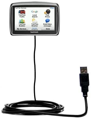 Classic Straight USB Cable for The Tomtom GO 740 with Power Hot Sync a