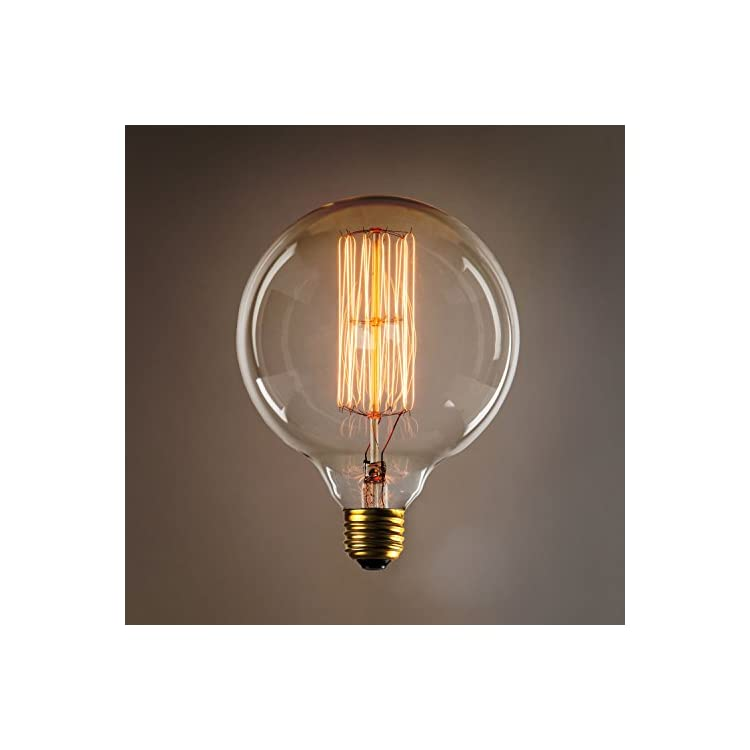 40W-Edison-Globe-Light-Bulbs---G40-Oversized-Vintage-Filament-Bulb,-E26-Base,-Fully-Dimmable,-Warm-White,-Incandescent,-Bedford-Collection,-Set-of-2