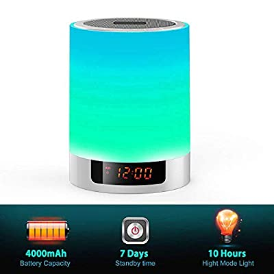 Night-Lights-Wireless-Speaker-Touch-Sensor-Bedside-Lamp-Dimmable-Warm-Light-&-Color-Changing-MP3-Music-Player,-Bluetooth-Speaker-with-Lights-for-Party,-Bedroom-Outdoor-(Updated-Version)