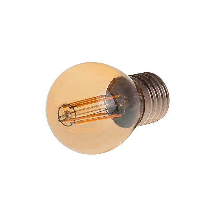 G16-DSGT-4W-WW22-Dimmable-Gold-Tint-G14/G16-E26/E27-4W-Edison-Style-LED-Vintage-Antique-Filament-Bulb,-40W-Equivalent,-Ultra-Warm-White-2200K-(Amber-Glow),-4-Pack