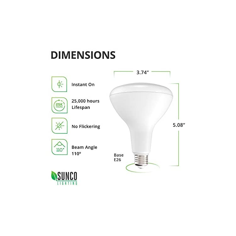 6-Pack-BR30-LED-Bulb-11W=65W,-5000K-Daylight,-850-LM,-E26-Base,-Dimmab