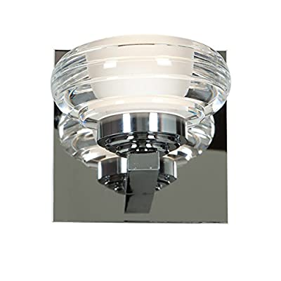 Access-Lighting-63971LED-CH/ACR-Optix-LED-5-Inch-Width-Vanity-with-Acrylic-Lens,-Chrome